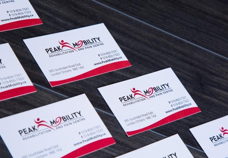 Business cards van pelts print plus next reheart Images